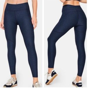 Outdoor Voices High Rise 7/8 Warmup Leggings Blue